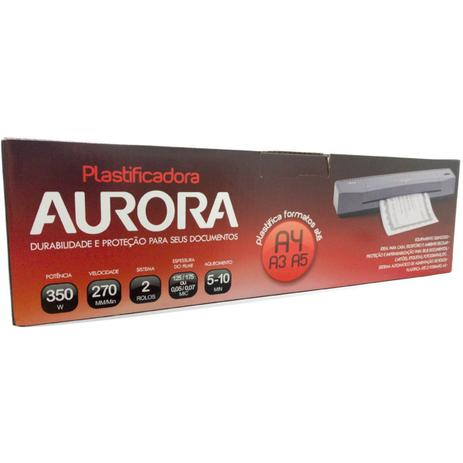 Imagem de Máquina plastificadora aurora lm3233h-1 110v