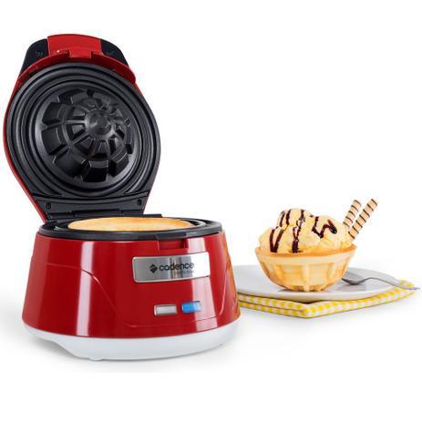 b13edb035 Máquina Waffle Bowl - Cadence Única - Cozinha Criativa - Magazine Luiza