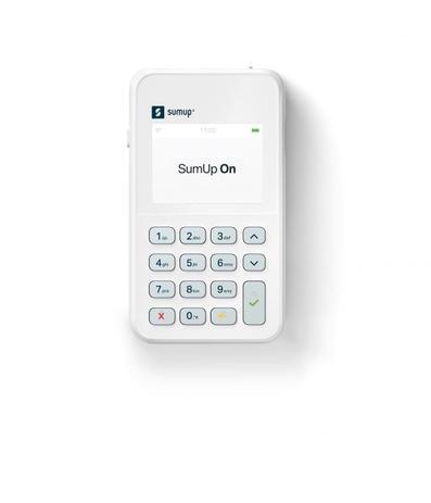 Imagem de Maquininha de Cartão Sumup On com Chip Vivo Faz Vendas Por Aproximação
