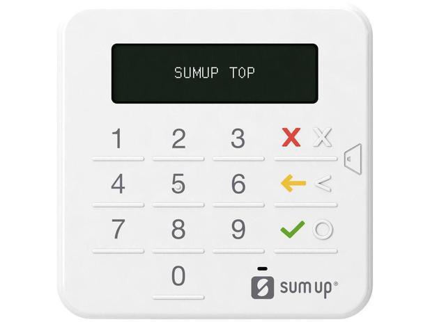Imagem de Maquininha de Cartão SumUp Top Sem Aluguel e Sem Mensalidade - Sumup Top