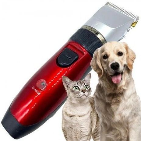 Imagem de Maquininha De Tosa Pet Profissional Cães Gatos Cortar Pelos