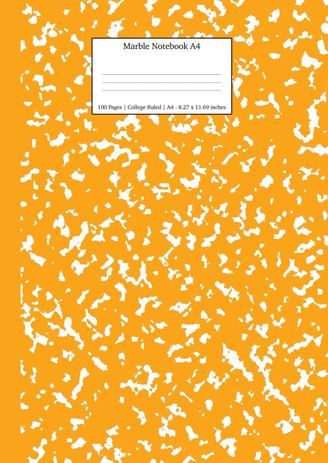 Imagem de Marble Notebook A4