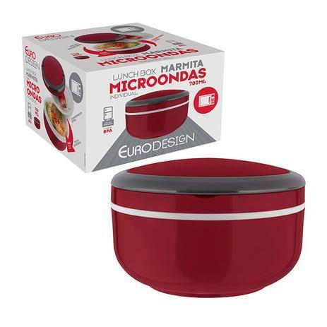 Imagem de Marmita Lunch Box Microondas Individual - Euro Home