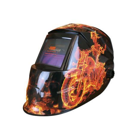 6b1760baf9e20 Máscara de auto-escurecimento para solda tonalidade 11 - Man Fire - Titanium