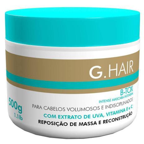 c9e3ddf9e Máscara de Tratamento G.Hair B-Tox - 500g - Máscara Capilar ...