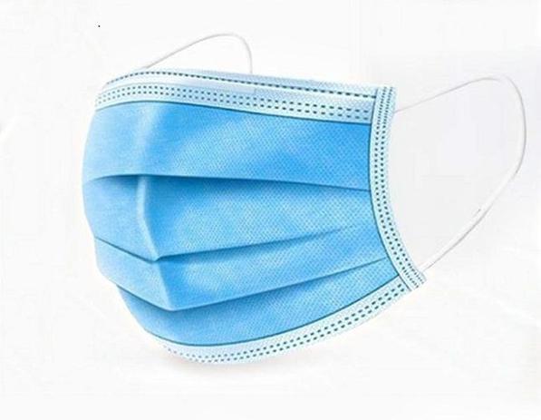 Imagem de Máscara Descartável de Proteção Facial 3 Camadas c/10 peças