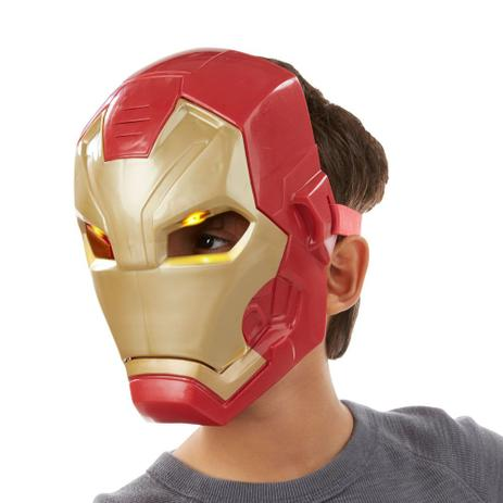 0d3ccb28955 Máscara Eletrônica - Marvel - Capitão América Guerra Civil - Homem de Ferro  - Hasbro - Disney