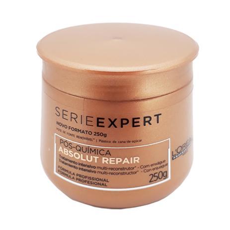6348977f2 Máscara Loréal Professionnel Série Expert Absolut Repair Pós Química 250g -  Loréal professionnel