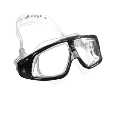 Máscara Natação Seal 2.0 Lente Transparente Aqua Sphere - Máscara de ... 06ce7add4d