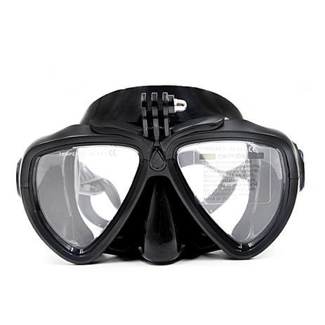3bdb3fd9a Mascara Óculos de Mergulho para Câmeras de Ação Telesin DIV-GS2 Tamanho  Único Cor Preto