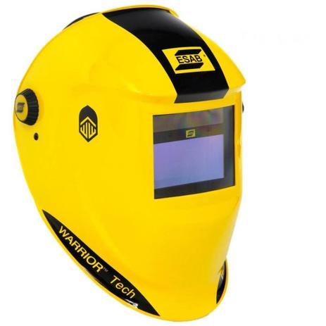 Máscara para Solda Automatica com Regulador Amarela ESAB - Máquina e ... fb01f36514