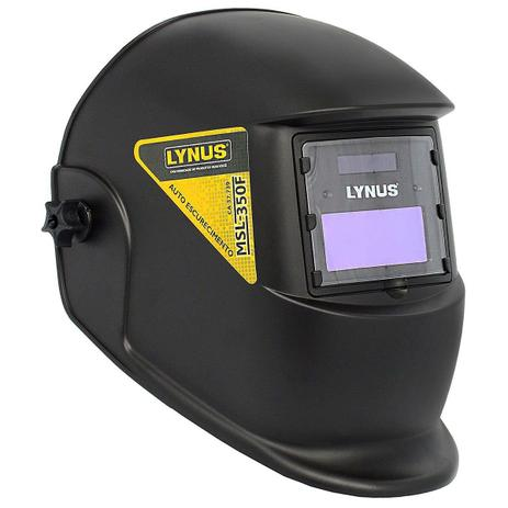 Imagem de Máscara para Solda de Escurecimento Automático de 3 à 11 DIN  Fixa LYNUS