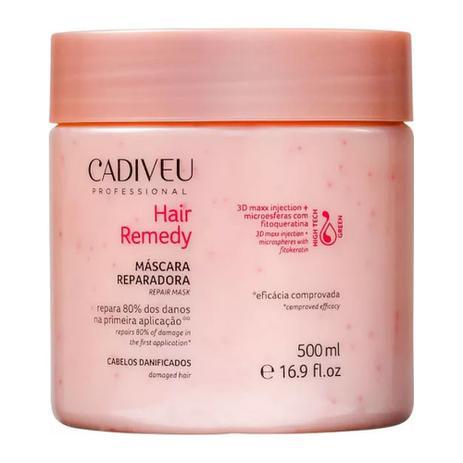 Imagem de Máscara Reparadora Hair Remedy Cadiveu 500g