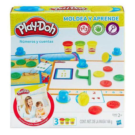 661b473f0f Massa de Modelar Play-Doh Aprendendo os Números - Hasbro - Massinha ...