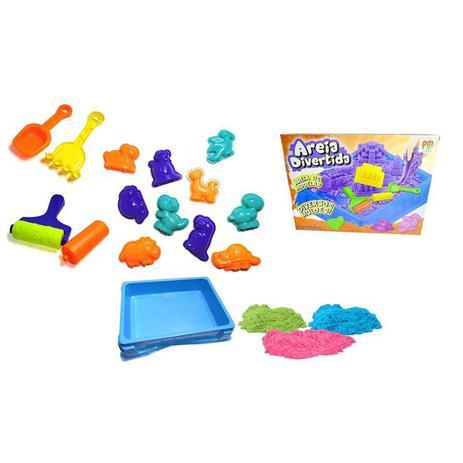 318a496f16 Massinha de areia magica dinossauro com 15 acessorios e 3 sacos de areias  para modelar - Gimp