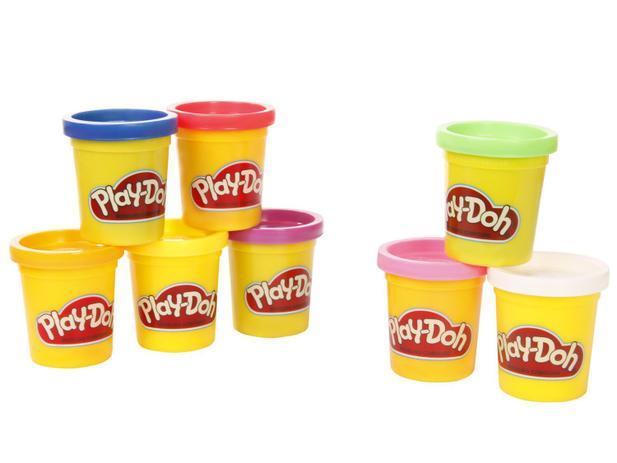 Massinha de Modelar Playdoh com 8 Potes - Hasbro