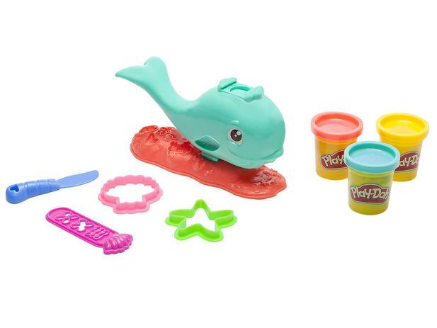 16d62afa6c Massinha Play-Doh Baleia Divertida Hasbro - com Acessórios ...
