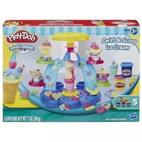 Imagem de Massinha Play-doh Sorveteria Divertida - Hasbro B0306