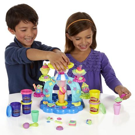 06002416ce Massinha Play-Doh - Sorveteria Divertida - Hasbro - Massinha ...