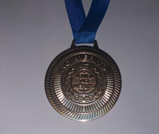 Imagem de Medalha De Honra Ao Mérito Em Metal Com 6cm - Ouro