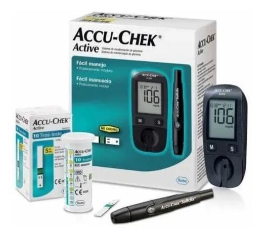 Imagem de Medidor De Glicemia Accu Check Active (aparelho Active)