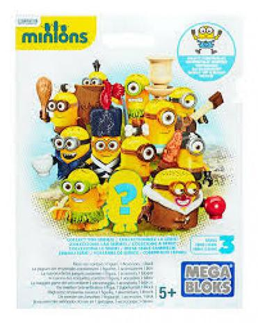 Mega Bloks Minions Figuras Surpresa CNF46 - Mattel - Bonecos e ... 1a9a4b448507b