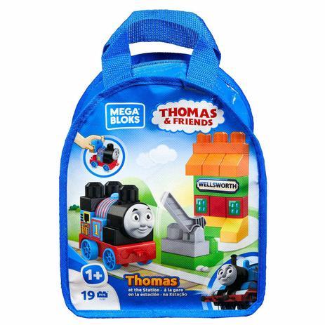 a7c2271b8 Mega Bloks Thomas e seus Amigos Cenários de Sodor Estação de Trem - Mattel