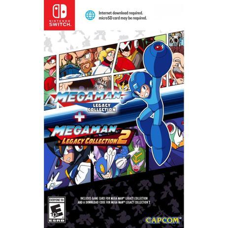 Imagem de Megaman Legacy Collection + Megaman Legacy Collection 2 - Switch