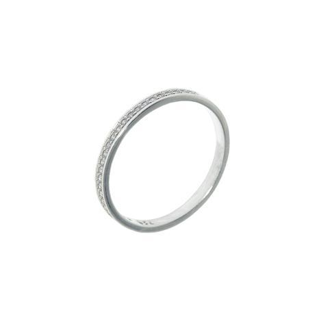 Meia Aliança Trilho em Ouro Branco 18K com 26 Diamantes de 0,5 Ponto cada -  Napoleon Joias bb44573ef5