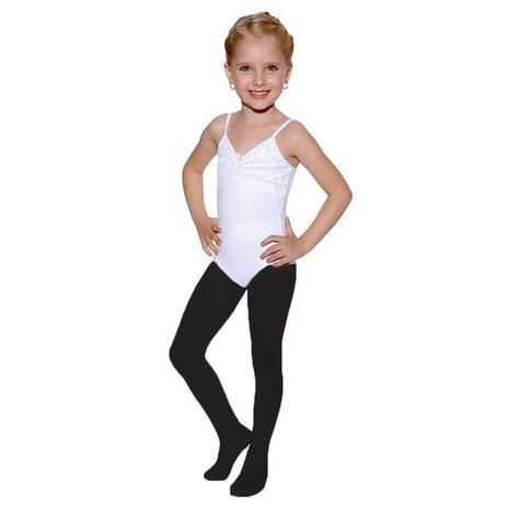 22eaccf865 Meia calça com pé infantil preto só dança - Meia Calça Infantil ...