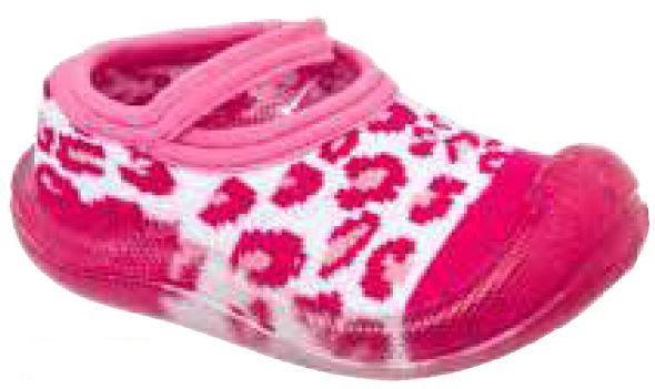 c0c8ac771a Meia com sola sapatilha onça pink menina. - Keto calçados - Meia ...