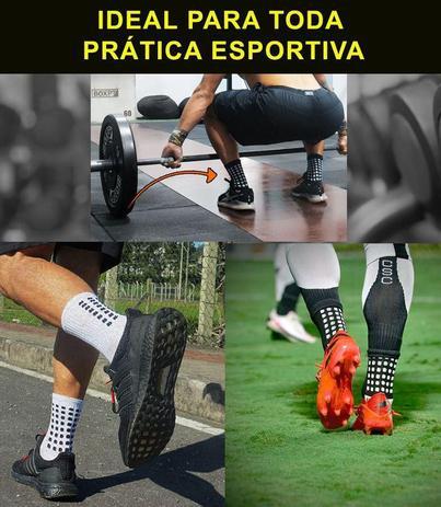 Imagem de Meia Trusox Futebol Alta Performance Antiderrapante