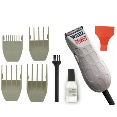 f34ddc196 Melhor maquina de cortar cabelo profissional do mundo Peanut Branca Bivolt  - WahL - Whal