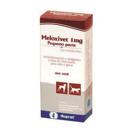 Imagem de Meloxivet Duprat 1mg - 10 Comprimidos