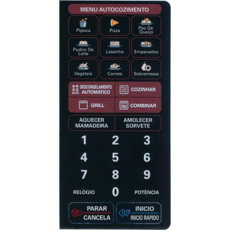 Imagem de Membrana Microondas Compatível LG MH4046X