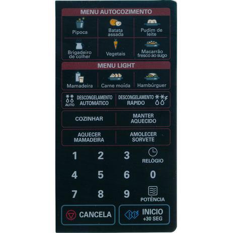 Imagem de Membrana Microondas LG  MS3047 13 VIAS
