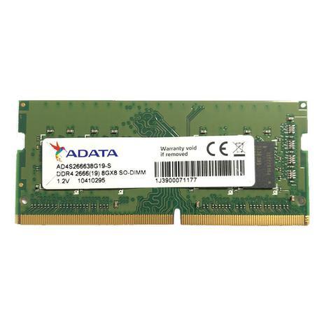Imagem de Memória 8GB Notebook DDR4 2666MHZ Sodimm Adata AD4S266638G19