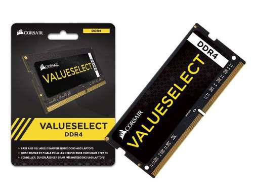 Imagem de Memória Corsair Valueselect 16GB DDR4 2133MHz pARA NOTEBOOK  CMSO16GX4M1A2133C15