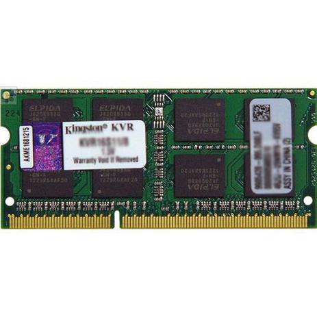 Imagem de Memória Notebook 8Gb DDR3 1600Mhz Kingston KVR16S11 / 8