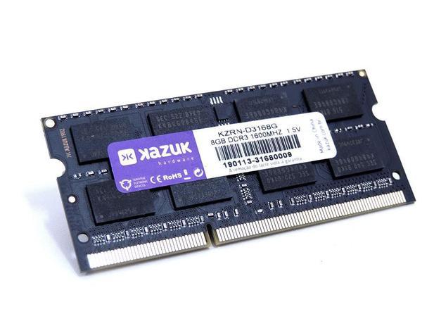 Imagem de Memória Notebook Kazuk 8gb - 1600 Mhz Ddr3 Ram Kzrn-d3168g