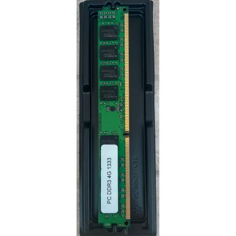 Imagem de Memória RAM DDR3 PARA DESKTOP 4GB 1333 MHz PC3-10600 240 Pinos LONG-DIMM