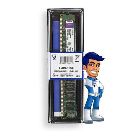 Imagem de Memoria Ram Kingston 8GB 1600MHz DDR3 KVR16N11/8