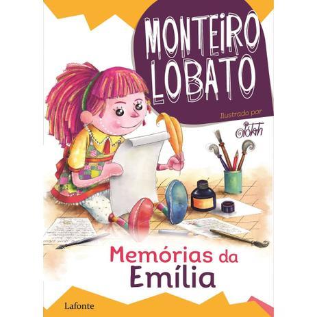 Imagem de Memórias da Emília - Monteiro Lobato