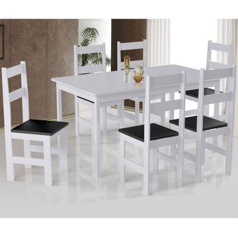 Imagem de Mesa Arauna primavera com 6 Cadeiras