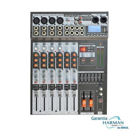 Imagem de Mesa de Som Analógica SX 802 FX USB 8 Ch - Soundcraft