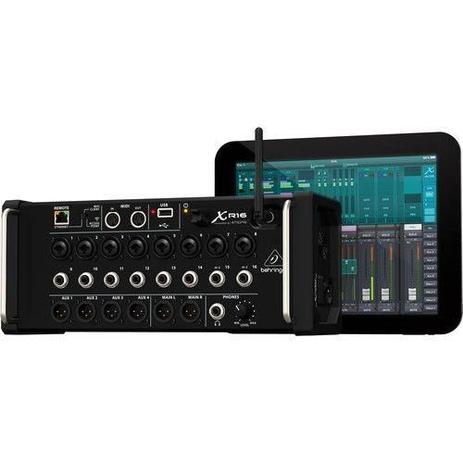 Imagem de Mesa de Som digital Behringer X-Air XR16 p/ iPad/Android c/ 16 entradas e Gravação USB