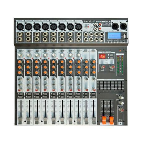 Imagem de Mesa de som soundcraft usb sx-1202 fx usb 12 canais
