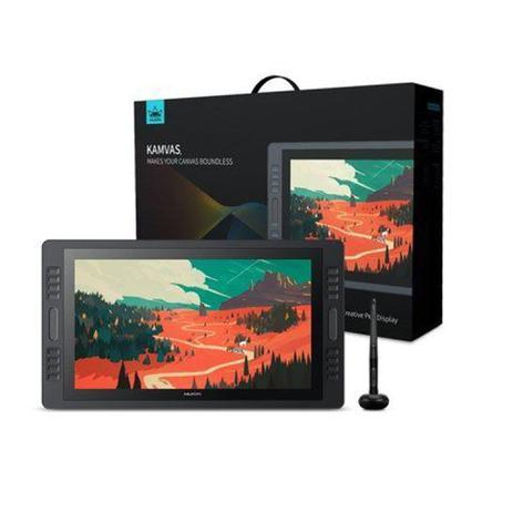 Imagem de Mesa Digitalizadora Huion Gt1901 Kamvas Pro Pen Tablet Preto Média Hdmi/Dp/Vga - GT1901
