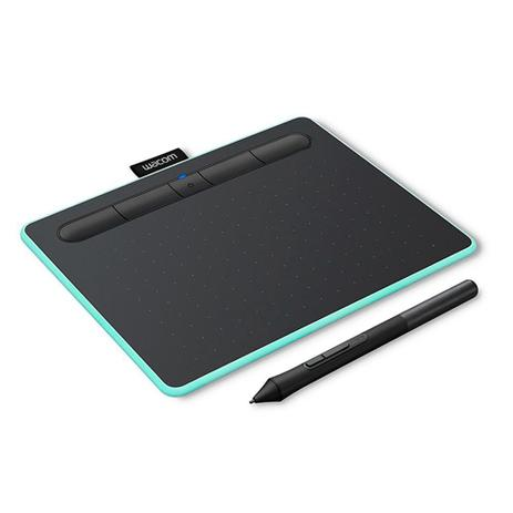 Imagem de Mesa Digitalizadora Wacom CTL-4100WL 4096 Pontos de Pressão 2540 lpi Bluetooth Verde - CTL-4100WLE0