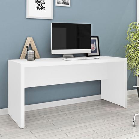 2c6de88224 Mesa Escritório Me4109 Branco - Tecno mobili - Escrivaninha   Mesa ...